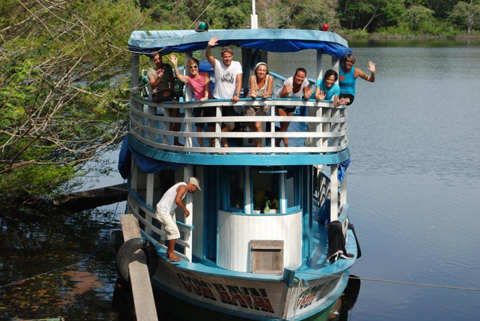 Regional Boat Amazon Trip