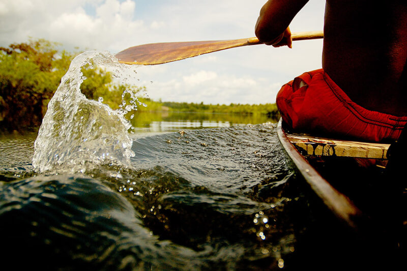 Amazon Ecotourism Trip-canoe-river