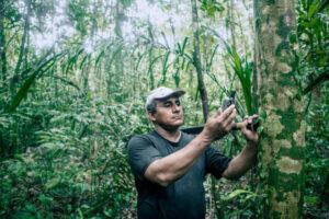 Amazon Ecotourism Trip-man-amazon forest