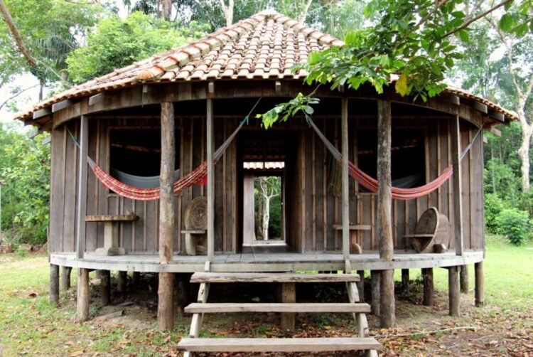 Amazon Trip EcoTourism-accomodation-wooden bugalow-amazon forest