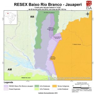 map-protected forest-amazon