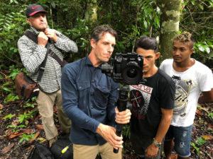 film crew- Xixuaù- amazon forest