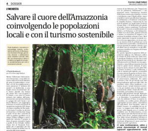 saving the amazon-local community