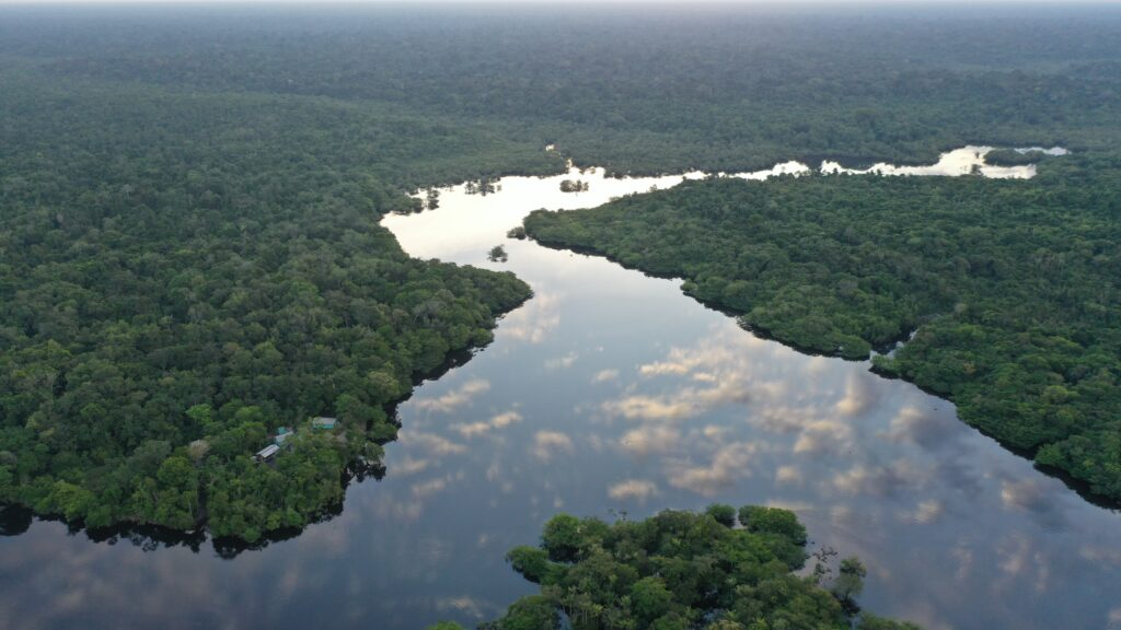 river-Amazon forest-clouds