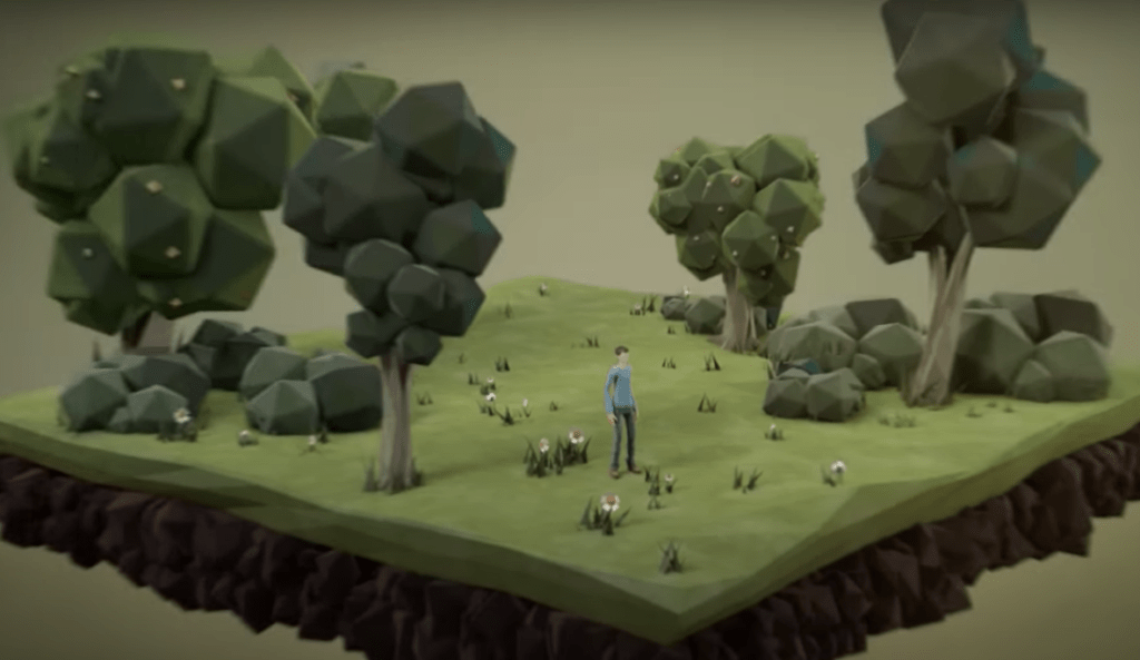 trees-man-rocks-vegetation-soil